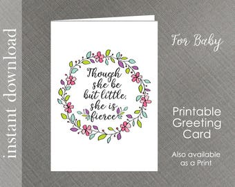 baby shower cards printable