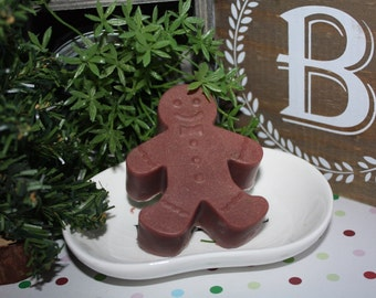Soap-Gingerbread Soap-Gingerbread Man Soap-Gingerbread & Pumpkin Soap-Christmas Soap-Holiday Gifts for Kids-Gingerbread Lover's Soap
