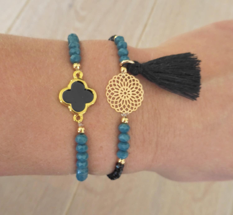 Bracelet Stack Boho Chic Bracelet Bohemian Jewelry