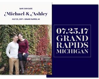 Save Our Date DIY Printable