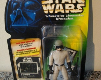 Star Wars- Power of the Force- AT-ST Driver Action Figure