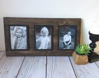 Picture Frame Set - Rustic Picture Frame - Rustic Home Decor - Picture Frame - 4x6 Picture Frame - Farmhouse Decor - Wood Frame - Frame