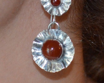 Sterling Silver Spanish Style Earrings