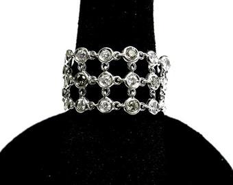h stern diamond fashion ring 18k