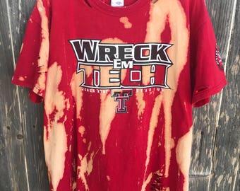 Texas Tech Tshirt, Size Large
