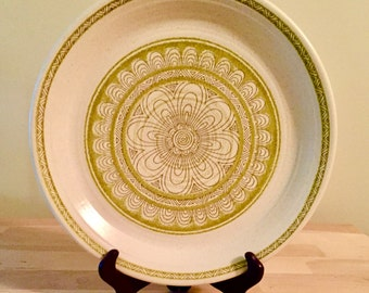Franciscan Earthenware Hacienda Green Dinner Plate