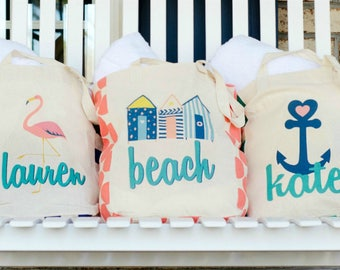 RESERVED BEACH TOTES