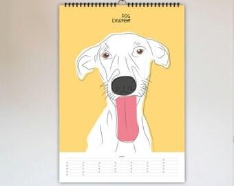 SALE MOTIVATION KALENDER 2017 — Wandkalender, Jahreskalender, Skandinavian Design, Literatur, Witzig, Minimalistisch, Artprint, modern