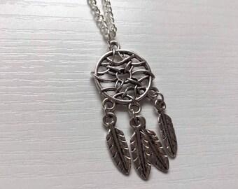 Dream Catcher Necklace, Dream Catcher Jewellery, Dream Catcher Gift, Birthday Gift, Gift for Her, Dream Catchers
