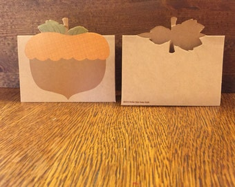 fall wedding place card holders. fall place card holders, autumn individual name cards, decoration wedding holders a