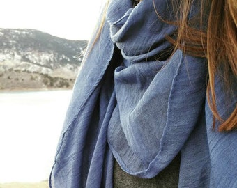 Lightweight + 100% Cotton Scarf