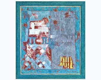 Abstract Painting, Abstract Art, Giclée Print, Abstract Art Print, Contemporary Modern  Green Art Print, Fine Art Print, MarilionFineArt