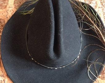 Black Western Cowboy Hat