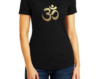 Ome tshirt | Om tee | Yoga tshirt | Ladies yoga top | Womens meditation tshirt