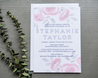 Hudson Garden Bridal Shower Invitation