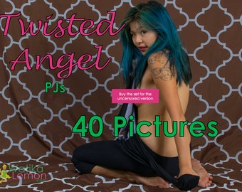 Twisted Angel - PJs - (Mature, Contains Nudity) - 40 Pictures