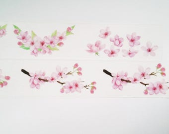 Design Washi tape cherry blossom branch