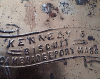 Kennedy's Biscuit Tin Box