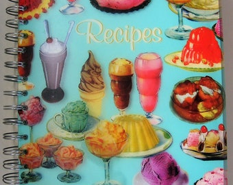 Retro Paperchase recipe file
