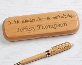 10 Quotes Personalized Pen Set