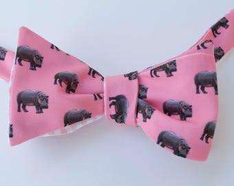 Hippo Bow Tie