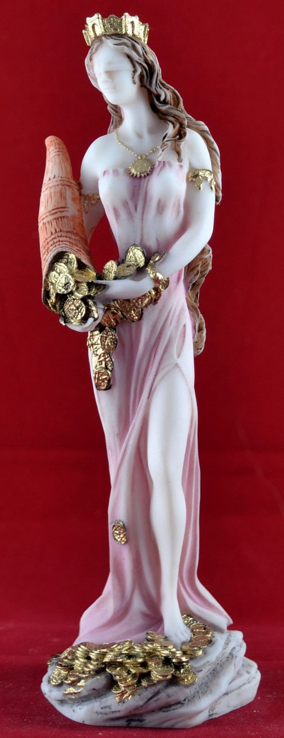 Fortuna Tyche Greek Goddess Of Luck Fate And Fortune