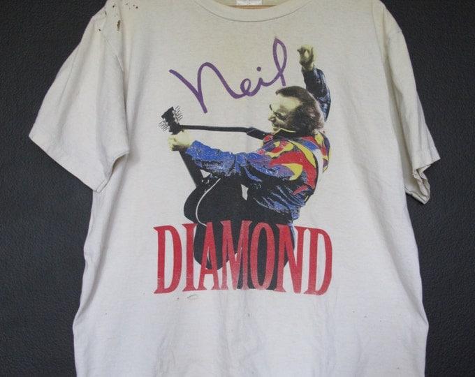 Neil Diamond American Tour 1993 vintage Tshirt