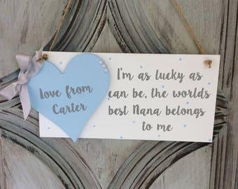 personalised gift mum mummy mom nanny mothers day