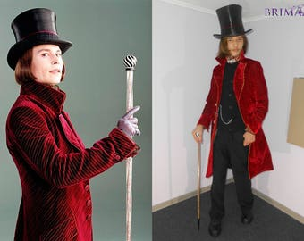 Willy Wonka - Charlie and Chocolate Fabrics cosplay outfit