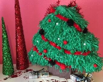 Christmas Pinata Etsy - Christmas Tree Pinata
