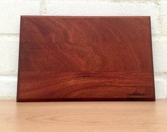 Reclaimed Mahogany Chopping Board