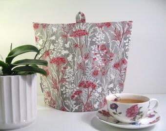 Tea Cozy, Tea Pot Cosy, Handmade Tea Cosy, Fabric Tea Cozy, Tea Pot Cover