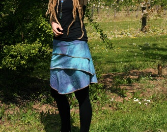 Tiered skirt organic cotton