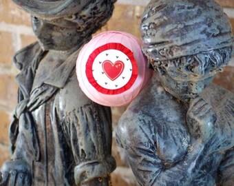 vintage valentines - valentines party - surprise ball - party favors - valentine gift - valentine gift for kids - bami ball - valentines day