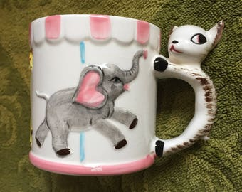 lovely Carousel 8oz mug cup