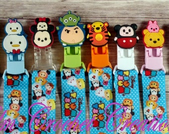 SALE*** Tsum Tsum Pacifier Clips - ABDL/DDLG/Littles/Age Play