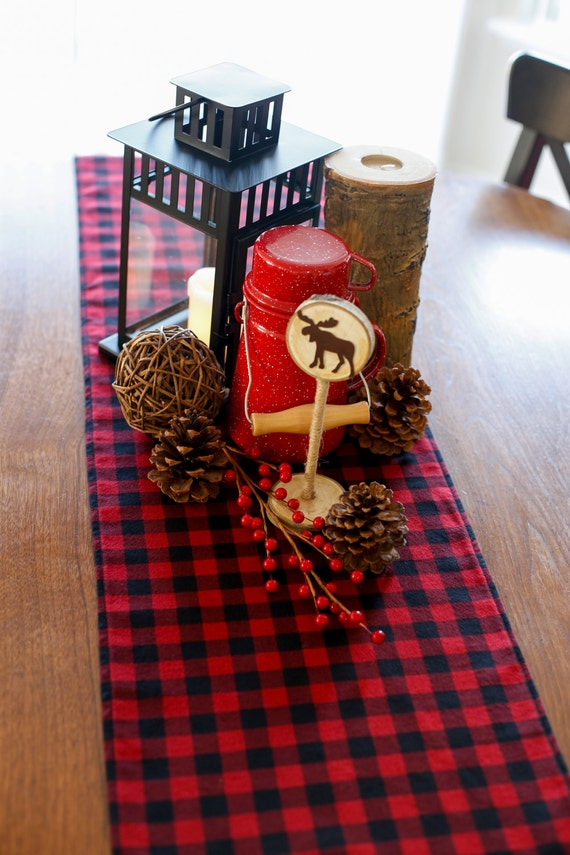 Items Similar To Buffalo Plaid Table Runner Christmas
