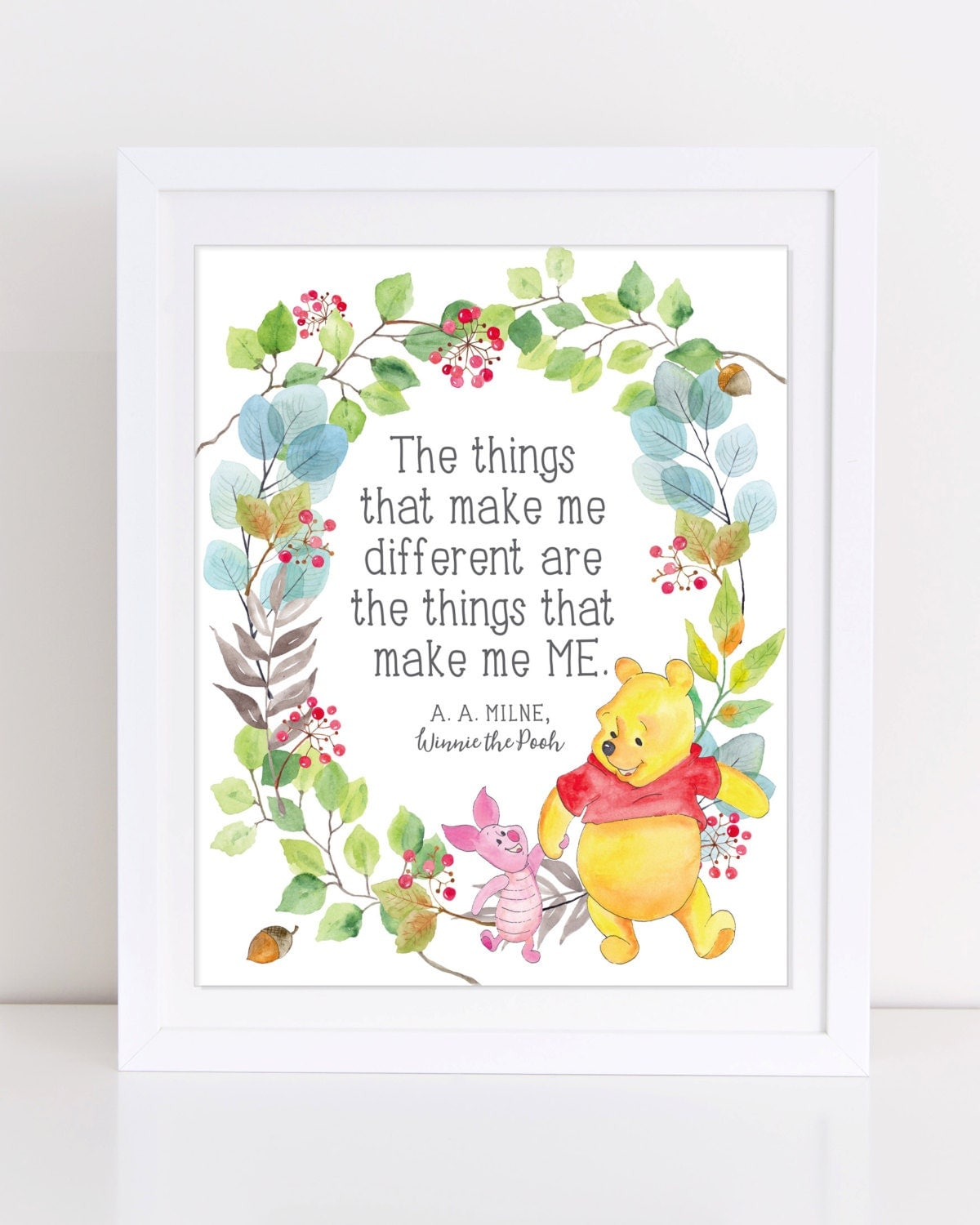 Winnie The Pooh Quote Winnie The Pooh Print INSTANT