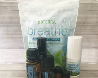 Breathe Oil, Breathe Essential Oil, Breathe Sample, Essential Oil, Breathe, Respitory Oil, Breath Easy Oil, FREE SHIPPING