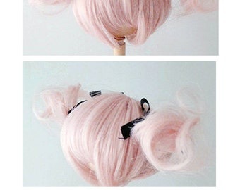 "Ppinkys 1/4 bjd 6'-7', 7-8"" doll wig super dollfie"