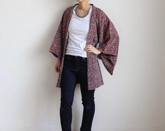 kimono cardigan, Haori, asian clothing, kimono jacket, Japanese fashion /1341