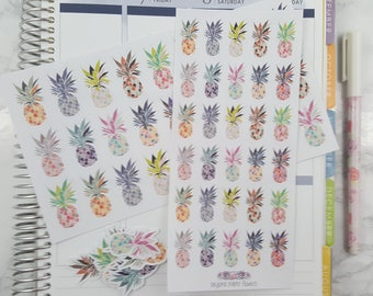 Beautiful Pineapple Stickers
