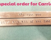 Special order for carrie
