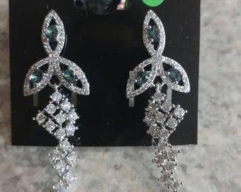 Mystic Topaz Dangle Earrings