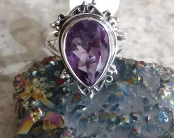 CLEARANCE *Amethyst Ring, Size 7