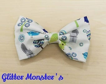 Forest Creatures Bow Tie,Infant-Adult Bow Tie, Mens Ties, Boys Tie, Bow Ties, Mens Bow Ties, Boys Bow Tie,Wedding Bow Tie,Graduation Bow Tie