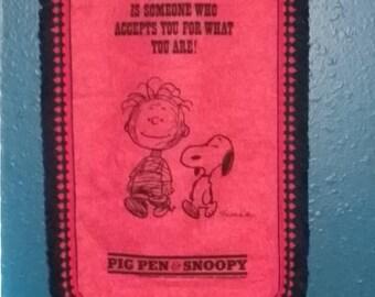 Snoopy & Pig Pen Friendship Banner