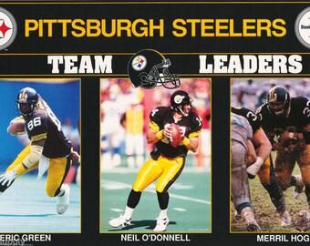 Pittsburgh Steelers Team Leaders 1992  Poster