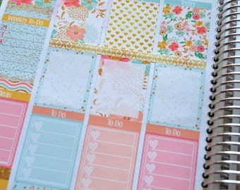 Lady Margerie weekly planner kit * 10 sheets of stickers