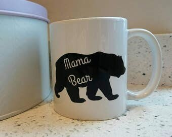 Mothers day mug for mama bear mum mummy bear gift